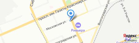 Дешевая аптека на карте Красноярска