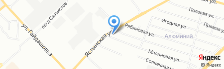 ПРОФИ на карте Красноярска