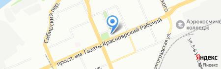 7 stars на карте Красноярска