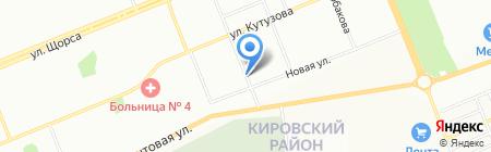 Банкомат Восточно-Сибирский банк Сбербанка России на карте Красноярска