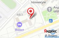 Схема проезда до компании Гранд в Красноярске