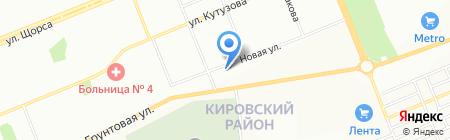 СеверТранс на карте Красноярска