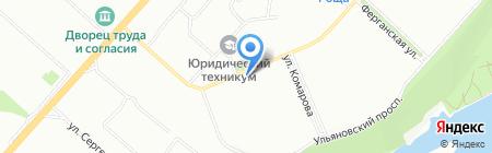 Банкомат АК Барс Банк на карте Красноярска