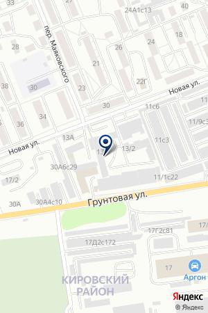 АВТОМОЙКА ГЕЛЬС на карте Красноярска