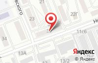 Схема проезда до компании Рекламный Пр Центр «Пирадофф» в Красноярске