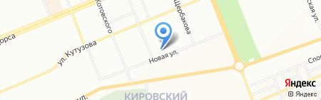 Ассорти на карте Красноярска