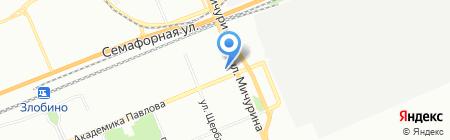 Средняя общеобразовательная школа №49 на карте Красноярска