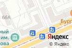 Схема проезда до компании Напильник в Красноярске