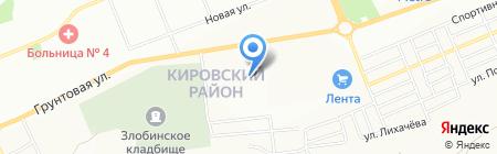 Стекло+ на карте Красноярска