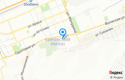 Местоположение на карте пункта техосмотра по адресу г Красноярск, ул Грунтовая, д 17