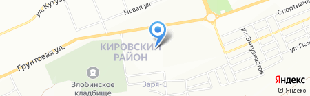 Изумруд на карте Красноярска