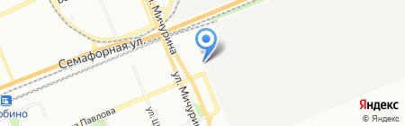 Сиб-Комфорт на карте Красноярска