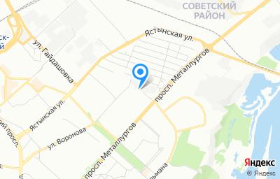 Местоположение на карте пункта техосмотра по адресу г Красноярск, ул Рокоссовского, д 3Г стр 3