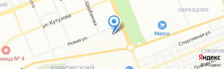 КрасТехСнаб на карте Красноярска