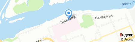 ТТВ на карте Красноярска
