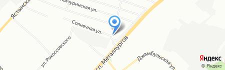 Радиан на карте Красноярска