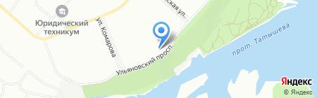 ОН-Лайн Клиник на карте Красноярска