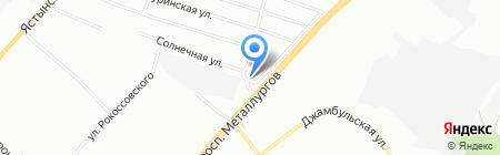 Спецмастер на карте Красноярска