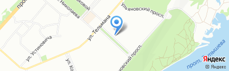 Новый на карте Красноярска