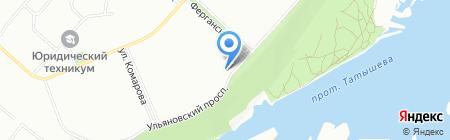 Соблазн на карте Красноярска