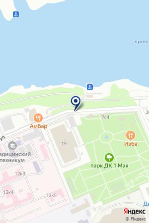 ЗАГС на карте Красноярска