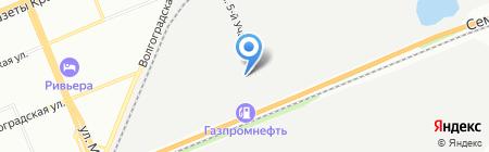 Вымпел-2003 на карте Красноярска