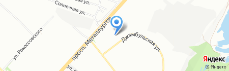 ДЮСШ №5 на карте Красноярска
