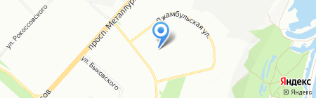Детский сад №292 на карте Красноярска