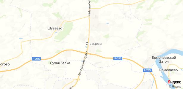 Старцево на карте