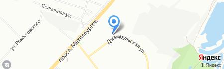 Сибагро Инвест на карте Красноярска