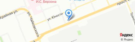 Элегия на карте Красноярска