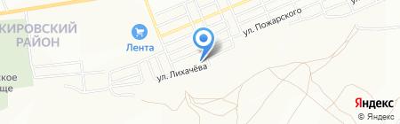 Регионснаб на карте Красноярска