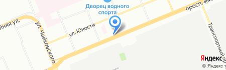 Деревенский на карте Красноярска