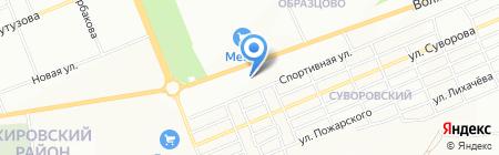 АбсолютЛесСтрой на карте Красноярска