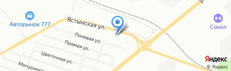 Резинотехник на карте Красноярска
