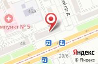 Схема проезда до компании Новамедиа в Красноярске