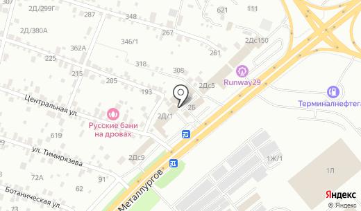 Ёлки. Схема проезда в Красноярске