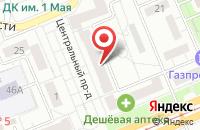 Схема проезда до компании Партнёр в Красноярске