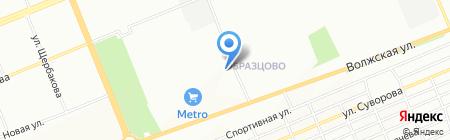 СтальСтройИнвест на карте Красноярска