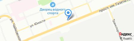 Слово на карте Красноярска