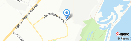 M-vision на карте Красноярска