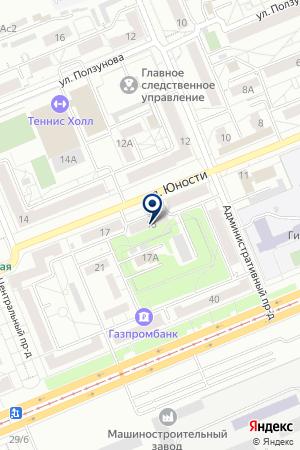 КРАСНОЯРСКОЕ УПРАВЛЕНИЕ ВОСТОКЭНЕРГОМОНТАЖ на карте Красноярска