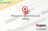 Схема проезда до компании Гляден в Красноярске