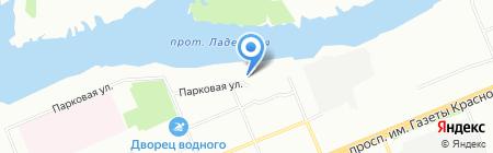 САВЭЛ на карте Красноярска