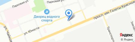 Ю-Тур Групп на карте Красноярска