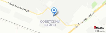Система на карте Красноярска