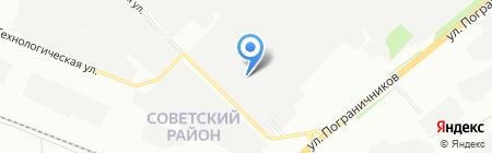Базис на карте Красноярска