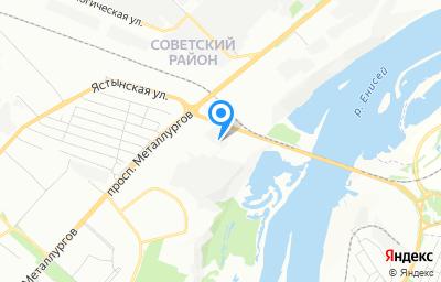 Местоположение на карте пункта техосмотра по адресу г Красноярск, ул Пограничников, д 127 стр 1, пом 3