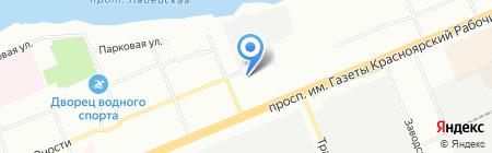 ЯрМоторс на карте Красноярска