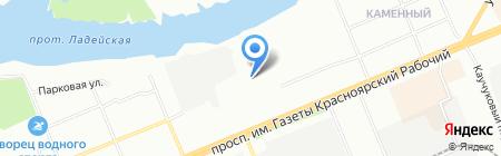 Простая Механика на карте Красноярска